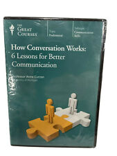 Great Courses CD How Conversation Works 6 Lessons for Better Communication