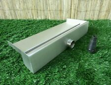 500mm Stainless Steel Waterfall WATER BLADE Cascade 130mm Spout Pond  BACK INLET