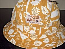 Vans Shoes Yusuke Hanai Artwork Yellow Bucket Hat Small Medium Free Ship NWT