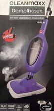 Cleanmaxx Dampfreiniger mit 180° Drehbaren Dreiecksfuß Dampfbesen mit Zubehör