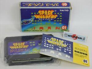 SPACE INVADERS Ref/0656 Nintendo Famicom Game fc