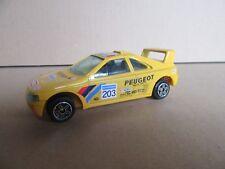 46G Burago Peugeot 405 T16 Rallye Paris Dakar 1990 # 203 Vatanen 1:43