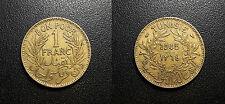 Tunisie - protectorat Français - Muhammad al-Amin Bey - bon pour 1 franc 1945