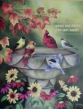.PUZZLE.....JIGSAW....MADAY......Autumn Birdbath.....1000pc..