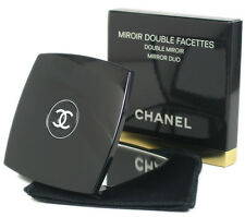 "Chanel 2.75"" Miroir Double Facettes Makeup Mirror Duo with Pouch"