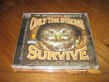 Chicano Rap CD Only The Strong Survive - Knightowl SPM Jes Latino Mr. Shadow