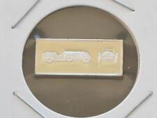 1931 Invicta Tourer 2.5g Proof Sterling Silver Bar Ingot Franklin Mint D0857