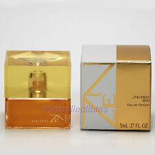 Shiseido ZEN Eau de parfum 5 ml Mini Perfume Miniature Bottle New in Box