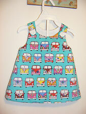 Camper Vans 3-6 Months 'Simply Awesome' Handmade Dress