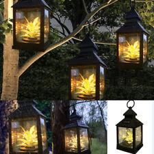 New Lamp Outdoor Waterproof Solar  Light Lantern Hanging Yard Patio Garden Decor