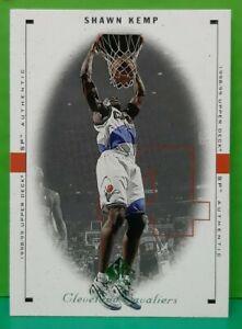 Shawn Kemp regular card 1998-99 Upper Deck SP Authentic #23
