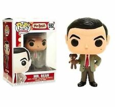 "MR BEAN WITH TEDDY 3.75"" POP TV VINYL FIGURE FUNKO BRAND NEW 592"