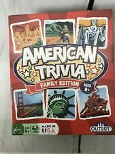 American Trivia Family Edition Board Game  -  New Sealed