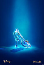 """Disney """"THE GLASS SLIPPER """"CINDERELLA 27x40 2-Sided Movie Theater Poster"""