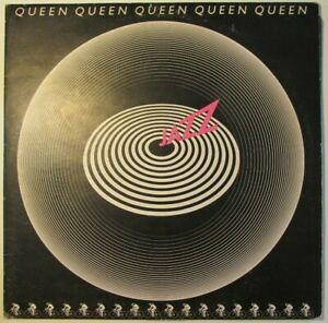 Queen-Jazz-LP-Vinyl-Record-EMA 788-1U/1U-Embossed Gatefold-The original LP
