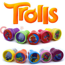 Dreamworks Trolls Stamps Set for 10pc Self Ink Stamp