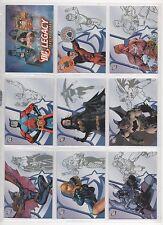 RITTENHOUSE DC LEGACY 50 CARD BASE SET