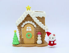 Sylvanian Families Calico Critters Christmas Gingerbread Playhouse & Baby Mouse