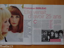 FRANCOISE DORLEAC (Catherine Deneuve) Coupure de presse 4 pages 2015 – Clippings