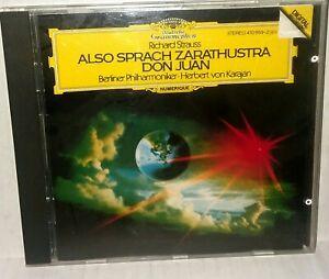 Strauss Also Sprach Zarathustra Don Juan CD Vintage 1984 Import West Germany
