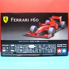 Tamiya 1/20 Ferrari F60 model kit with Photo-Etched Parts & Metal Antenna #20059