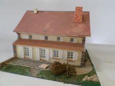 maquette 1589 ho maison jouef