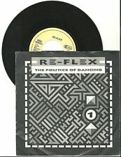 "Re-Flex, The Politics of Dancing, G/VG 7"" single, 1052"