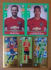 Panini FIFA 365 2020 MASON Greenwood and HALAND rookie stickers  (pink beck )