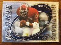 2000 QUANTUM FB Shaun Alexander /50 SP ROOKIE REVOLUTION RC CARD #RR-09 Rare!!