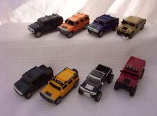 2006 MCDONALDS  HUMMER toy truck GMC complete set 8 VEHICULES