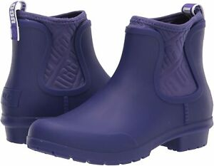 Women's Shoes UGG CHEVONNE Waterproof Slip On Chelsea Rainboots 1110650 VIOLET