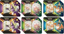 Pokemon Tcg Shining Fates Eldegoss, Boltund cramorant latas sellada caja de 6 Latas