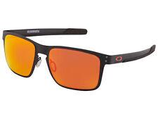 Oakley Holbrook Metal Sunglasses OO4123-1255 Matte Black/Prizm Ruby