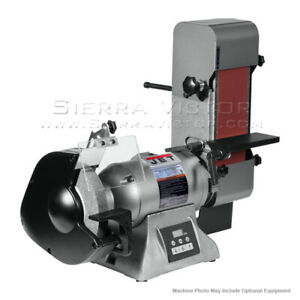 JET IBGB-436VS Variable Speed Combination Bench Grinder and Belt Sander 577436