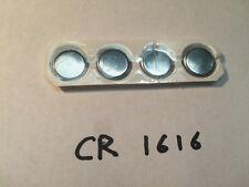 New CR1616 3V 50mAh Lithium Button Coin Battery Batteries Watch Calculator x4