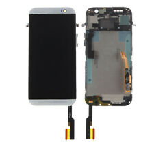 for HTC One M8 831c Silver LCD Display Digitizer Touch Screen Replacement Frame