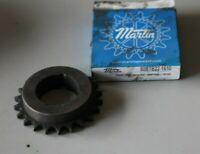 "Martin 50BTB19 ANSI 50 Chain Sprocket 3.797"" Pitch 19 Teeth 1610 Taper Lock, CTD"