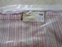 Longaberger Weekend Tote Zippered LINER Market Stripe Fabric