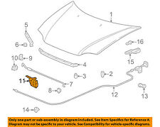 HONDA OEM 97-01 CR-V Hood-Lock Latch 74120S10A02