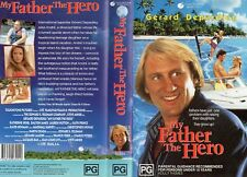 MY FATHER THE HERO - Depardieu -VHS -PAL-NEW -Never played! -Original Oz release