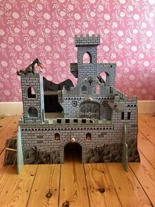 Wooden Fort Playset