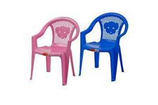 Stackable Kids Children Plastic Chair Home Picnic Party In Two Colours