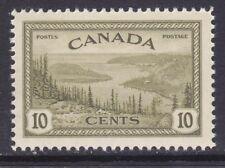 Canada 269 MNH 1946 10c Olive Great Bear Lake - Mackenzie Issue VF