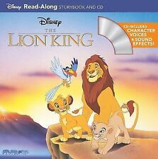 The Lion King Read-along Storybook and CD by Disney Press Staff (2011,...