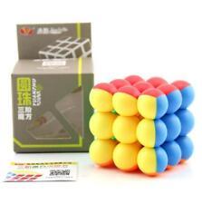 Newest YJ Yongjun 3x3x3 Ball Shape Block Speed Magic Cube Brain Teaser Toy Gift