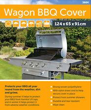 Heavy Duty Barbecue Cover Trolley Wagon BBQ Grill Storage Garden Patio Stove