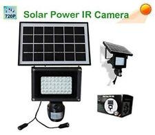 Cámara De Seguridad Oculta DVR grabadora en la detección de movimiento PIR Foco Energía Solar
