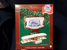Carlton Cards Ornament A Century Of Flight 2003 Wright Brothers Aviation Plane