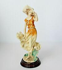 Giuseppe Armani Porcelain Lady Figure APRIL 121 C  FIGURINE OF THE YEAR 1997