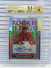 2019 Donruss Optic Kyler Murray Rookie Kings Auto Autograph #/25 BGS 9.5/10 N45